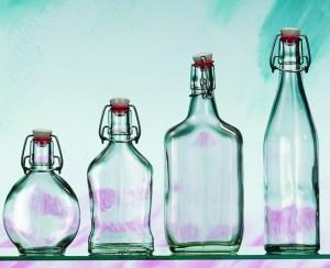 Flaschen und Gläser von Lipfert Glas