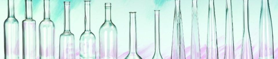 Lipfert Glas - Flaschen mit Korkverschluss