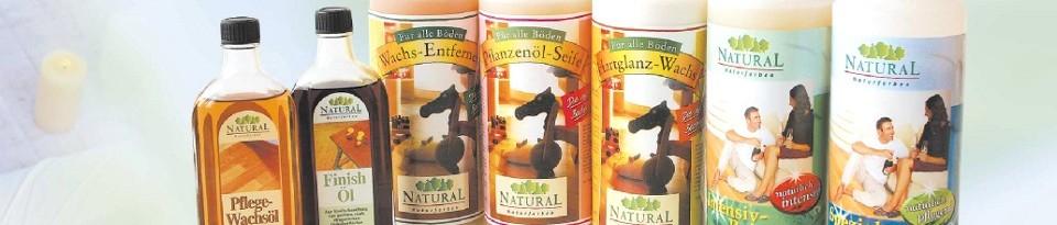 Natural Pflegeserie - Schutz und Pflege mit der Natur